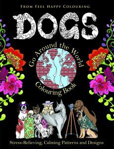 Dogs Colouring Book Cover